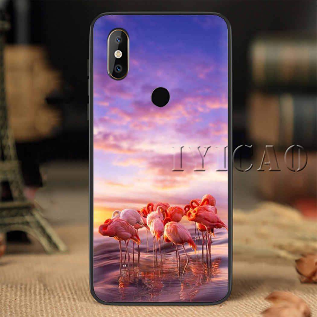 Flamingo Zachte Siliconen Telefoon Case voor Redmi Note 4X5 6 7 8 5 6 7 8 Pro 5A 16G 32G 64G 5A Prime Cover
