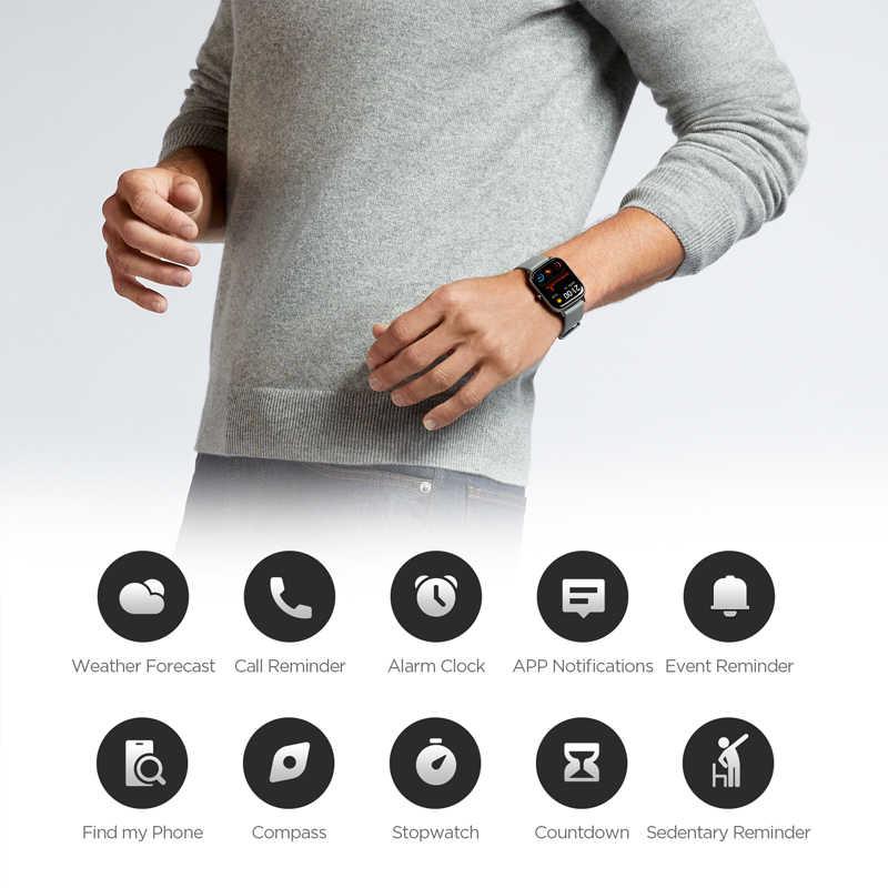 Globalna wersja Amazfit GTS inteligentny zegarek 5ATM wodoodporny pływanie Smartwatch 14 dni bateria sterowanie muzyką dla telefonu Xiaomi IOS
