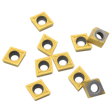 100PCS CCMT09T304 VP15TF UE6020 US735 Carbide inserts Internal Turning Tools Cutting Tool CNC Lathe cutter