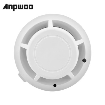 ANPWOO High Sensitive Stable Independent Alarm Smoke Detector Home Security Wireless Sensor Fire Equipment - discount item  31% OFF Transmission & Cables