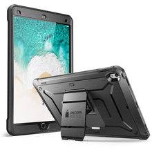 SUPCASE For iPad Air 3 10.5, For ipad Pro 10.5 Case 2017 UB PRO Heavy Duty Full body Rugged Case with Built in Screen Protector