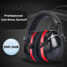 Anti Noise Head Earmuffs Foldable Ear Protector SNR 35dB For Kids/Adults Study Sleeping Work Shooting Hearing Safe Protection