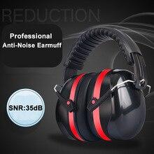 Anti Rumore Paraorecchie Testa Pieghevole Protezione Orecchie SNR 35dB Per I Bambini/adulti Studio A Pelo Lavoro di Ripresa Hearing Protezione Sicura