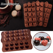 Silicone Chocolate Mold Shapes Chocolate baking Tools Non-stick Silicone cake mold Jelly and Candy Mold 3D mold DIY Accessories