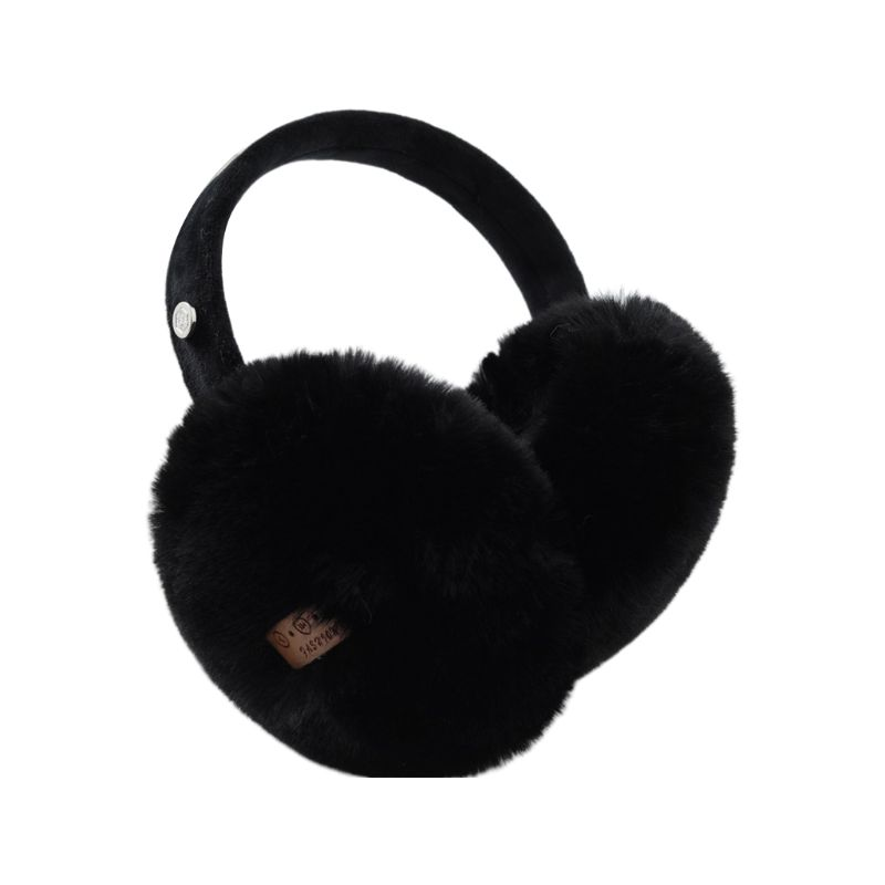 Unisex Winter Warm Bluetooth Earmuffs Wireless Plush Earphone Music Ear Warmers 40JF