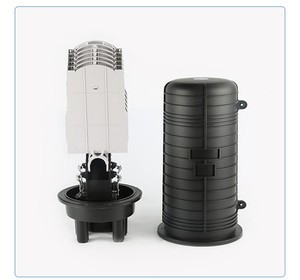 Image 2 - Fiber Optic Enclosure Plastic optical fiber distribution box optic splice joint closure Dome Fiber Optic Spling Closure 5 ports