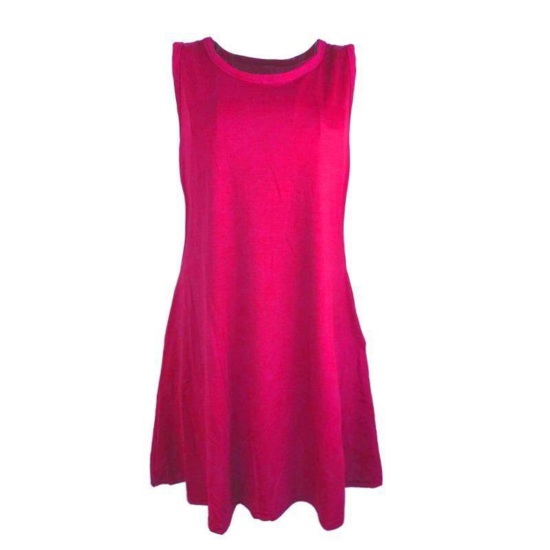 Women 39 s Casual Summer Sleeveless Sexy Club Dress low neck in Dresses from Women 39 s Clothing