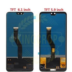 "Image 3 - Tft 6.1 ""Lcd Voor Huawei P20 Pro Lcd Met Frame Scherm Digitizer Vergadering Touch P20 Pro CLT AL01 l29 Lcd P20 Plus Display"