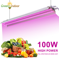Full Spectrum LED Grow Light 100W Indoor Plants Growing Lamp Fitolampy Phyto LED Strip Growth Tent Box Greenhouse Seeding Flower