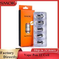 5pcs Original SMOK Vape Pen 22 Coil Vape mesh strip coil 0.15ohm Fit SMOK Vape Pen 22 Vape Pen Plus kit E Cigarette coils