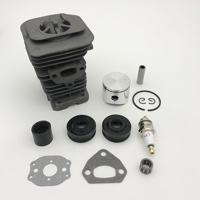HUNDURE 38MM Cylinder Piston Ring Bearing Gasket Motor Rebuild Kit For HUSQVARNA 142 141 137 136 Chainsaw Spare Parts