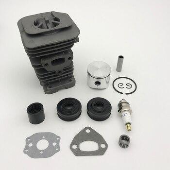 HUNDURE 38MM cilindro pistón anillo cojinete Junta Motor reconstrucción Kit para HUSQVARNA 142 141 137 136 motosierra repuestos