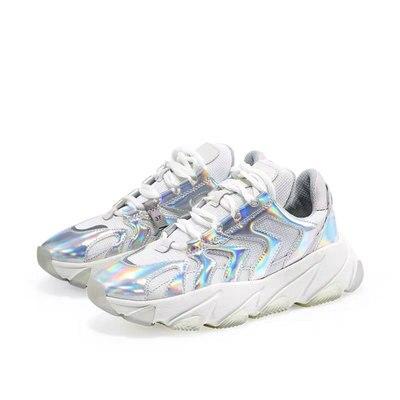 Новинка 2019 года; модная повседневная обувь; женские летние удобные дышащие сетчатые туфли на плоской подошве; женские Сникеры на платформе; Chaussure Femme