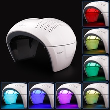 LED PDT Facial Mask Photon 7 Color Acne Wrinkle Therapy Lamp Facial Care Beauty Machine Skin Rejuvenation Anti Aging Device 3 colors facial led mask machine photon therapy light anti wrinkle acne removal skin rejuvenation facial skin care beauty device