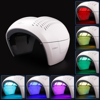 LED PDT Facial Mask Photon 7 Color Acne Wrinkle Therapy Lamp Facial Care Beauty Machine Skin Rejuvenation Anti Aging Device