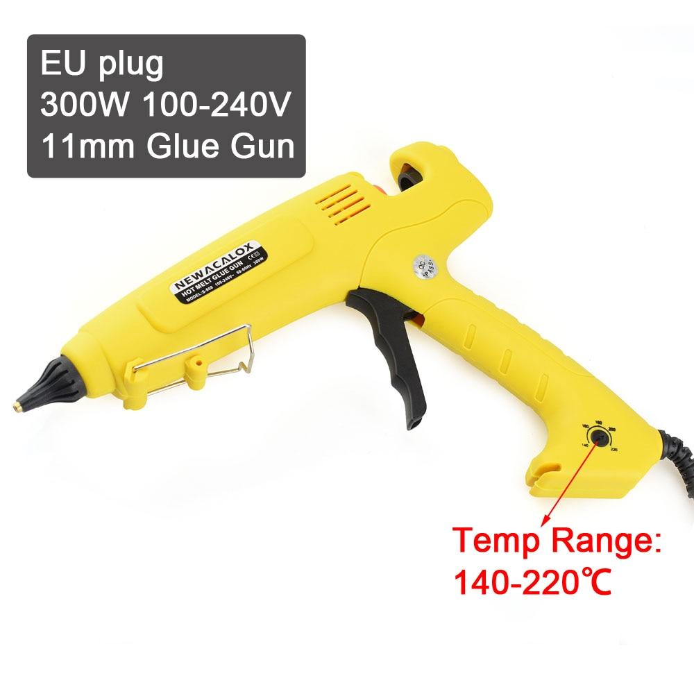 NEWACALOX EU Plug 300W 100-240V Hotmelt Lijmpistool 11mm Lijmstiften - Elektrisch gereedschap - Foto 2