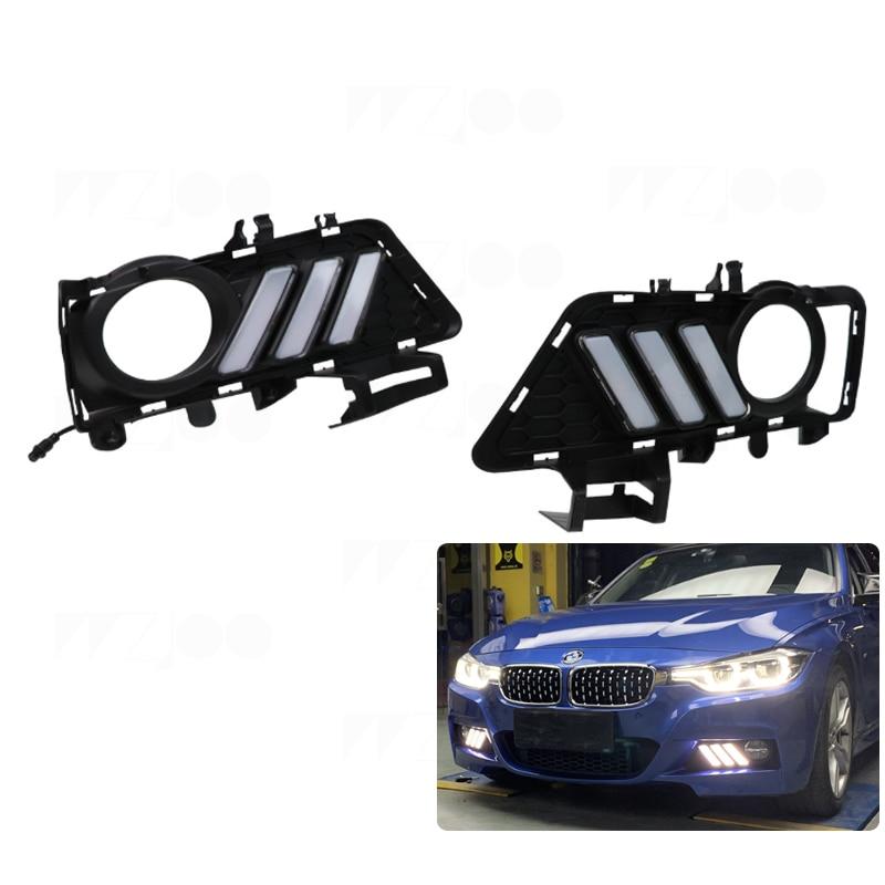 2x For BMW 3 Series F30 F35 F80 Ultra Bright White 24-LED Reverse Light Bulbs