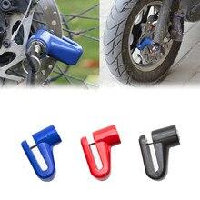 Безопасность Противоугонный сверхмощный мотоцикл велосипед мопед скутер дисковый тормоз ротор замок