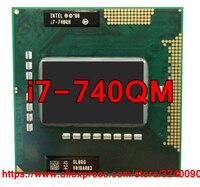 Original lntel Core i7 740QM 1,73 GHz-2,93 Ghz i7-740QM Quad-Core i7 740Q PGA988 SLBQG Mobile CPU ordenador portátil procesador envío gratis