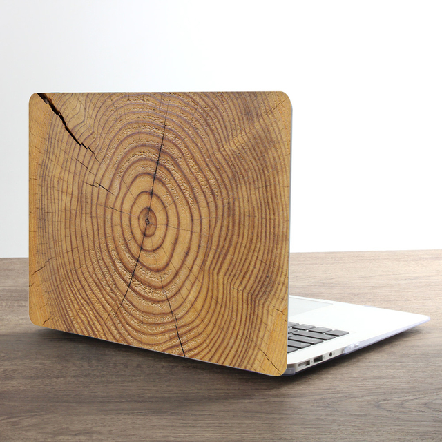 Classical Wood Grain Case for Macbook 3