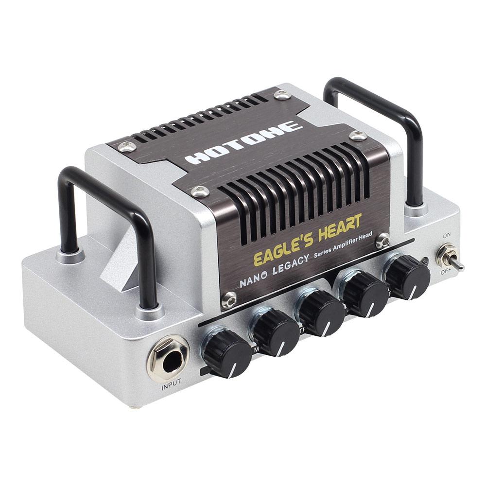 Hotone Eagle's Heart German Rock Sound Guitar Amp Head 5 Watts Class AB Amplifier With CAB SIM Phones/Line Output NLA-7