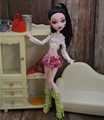 Новая качественная Одежда для кукол Monster High, мягкая повседневная одежда ручной работы, наряд для кукол, комплект одежды для девочек, игрушки ...