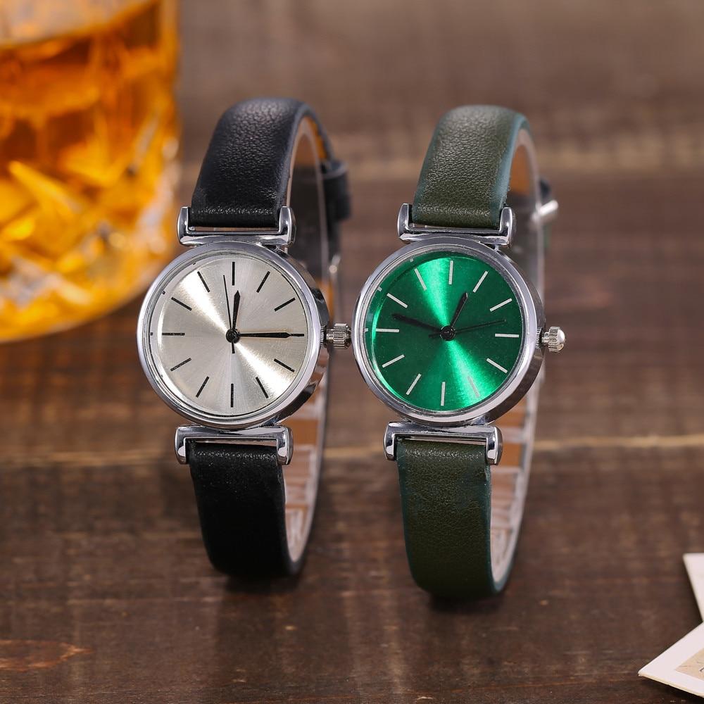 Women Lady Watch Quartz Clock Women 39 s Wristwatch Minimalist Watchband Reloj Mujer Vintage Montre Femme Children Watches Relogio in Women 39 s Watches from Watches