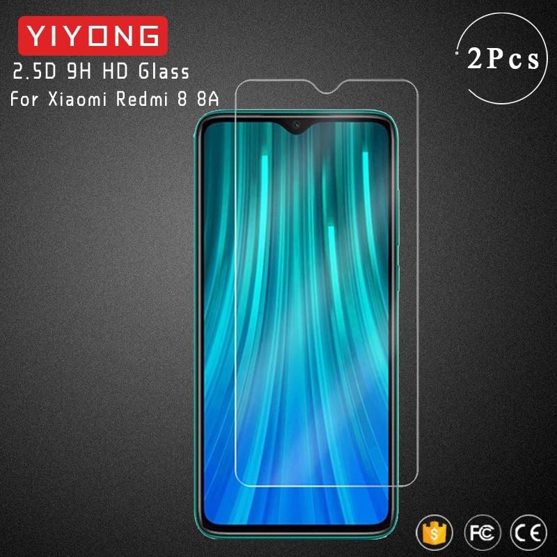 YIYONG 2.5D Glass For Xiaomi Redmi 8 8A 7 7A Tempered Glass Xiomi Screen Protector For Xiaomi Redmi 6 Pro 5 Plus 6A Redmi8 Glass(China)