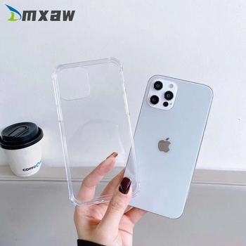 Clear Phone Protection Case For Huawei Nova 7 Pro 7 6 SE 7i 5T 4 4e 3 3e 3i 2 Plus 2s Honor 9X Pro 20 Lite Case Silicone Cover image