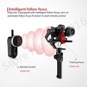 Image 3 - Moza 空気 2 3 軸カメラデジタル一眼レフミラーレスカメラ用キヤノン 5D2/3/4 サーボフォローフォーカス AIR2 vs feiyu AK4000 dji 浪人 s
