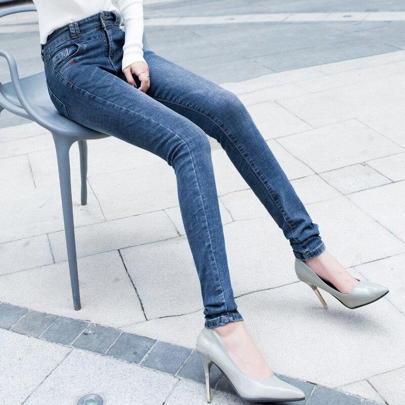 170cm Tall Women Pencil Pants Extended Pants High Waist Jeans Buckle 175cm Female 180cm Plus Size Ripped Jeans For Women