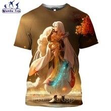 Mamba top Anime Inuyasha T Shirt 3D Hot Sale Sesshoumaru