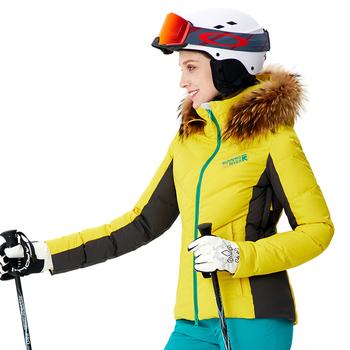 Rzeki do biegania marki z kapturem damska kurtka narciarska wysoka profesjonalna jakość odzież sportowa kobieta odkryty kurtki sportowe 8160 tanie i dobre opinie Running River CN (pochodzenie) POLIESTER WOMEN Skiing Dobrze pasuje do rozmiaru wybierz swój normalny rozmiar oddychająca