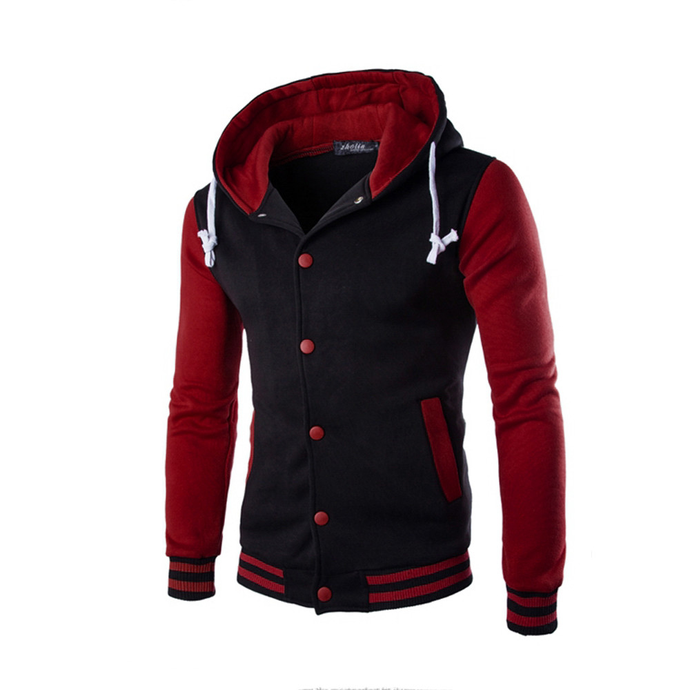 Hf3239b27b15c43a3912cdc21de7307c4f - WOMAIL 2019 Fashion Zipper Long Sleeve Mens Casual Jackets Patchwork Pure Color High Quality Jacket Cotton Pockets Outwear Coat