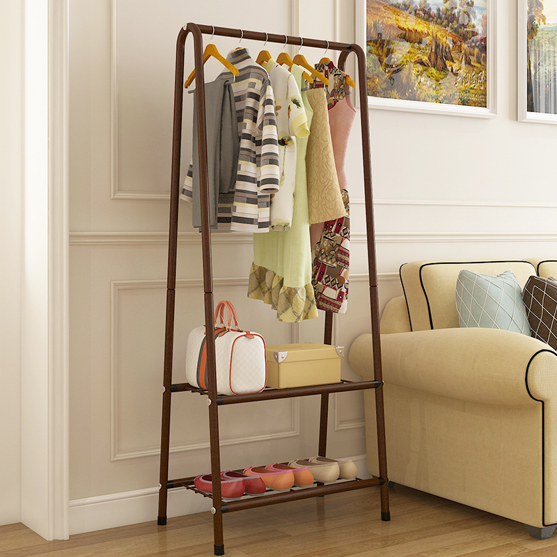 Wholesale Coat Rack Floor Bedroom Clothes Rack Simple Modern Household Shelf Living Room Creative Clothes Rack