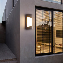 Outdoor wall lamps waterproof outdoor simple European balcony stairs aisle garden and terrance decoracion terraza exterior