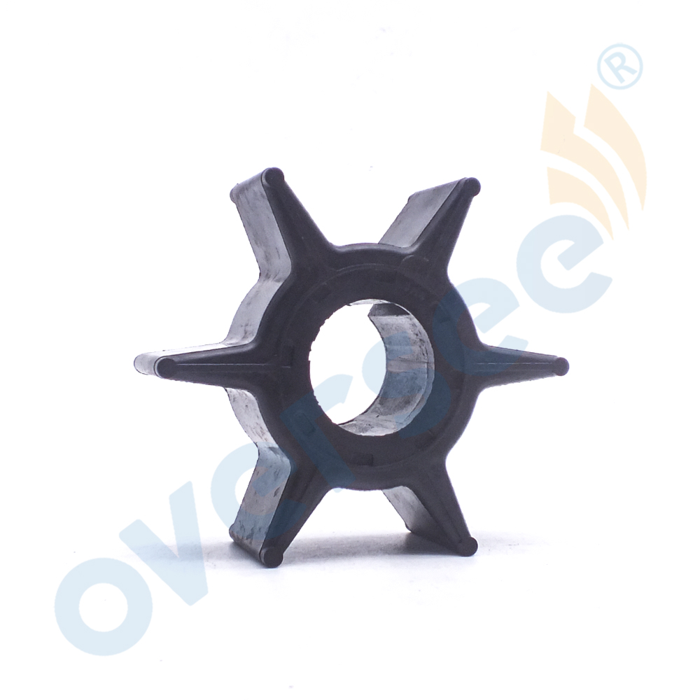 Water Pump Impeller 6H4‑44352‑02‑00 Fit for Yamaha 2 Stroke 25HP 30HP 40HP 50HP Outboard Engine Boat Motor Qiilu Water Pump Impeller