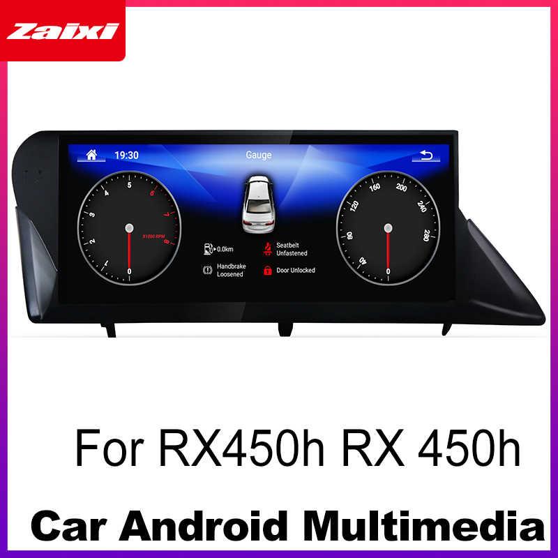 Samochód Android Radio odtwarzacz multimedialny gps dla Lexus RX450h RX 450h 2009 2010 2011 2012 2013 2014 stereo ekran hd media nawigacyjne