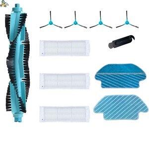 Image 1 - Тряпка для уборки, тряпки, основная щетка, боковые щетки, HEPA фильтр для Cecotec Conga 3290 3490 Elite 3690 Proscenic m7, запчасти для пылесоса