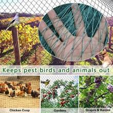 24/18/12/6 fios fazenda pássaro-prova cervos net cerca jardim e colheita proteção cerca net pássaro-prova cervos gato cão galinha net
