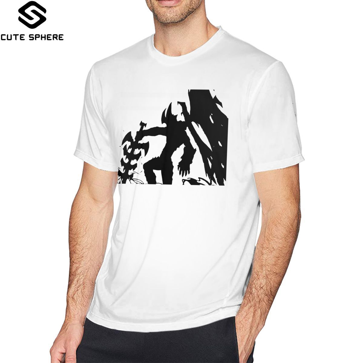 Aatrox T Shirt Aatrox T-Shirt Short-Sleeve 100 Percent Cotton Tee Shirt Funny Streetwear Graphic Man Tshirt