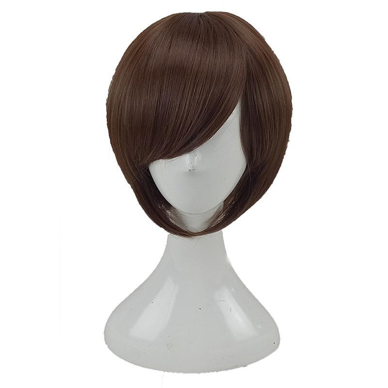 Hairjoy cabelo sintético curto em linha reta