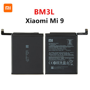 Xiao mi 100% oryginalny BM3L 3300mAh bateria do Xiao mi 9 Mi9 M9 mi 9 BM3L wysokiej jakości zamienne baterie do telefonu