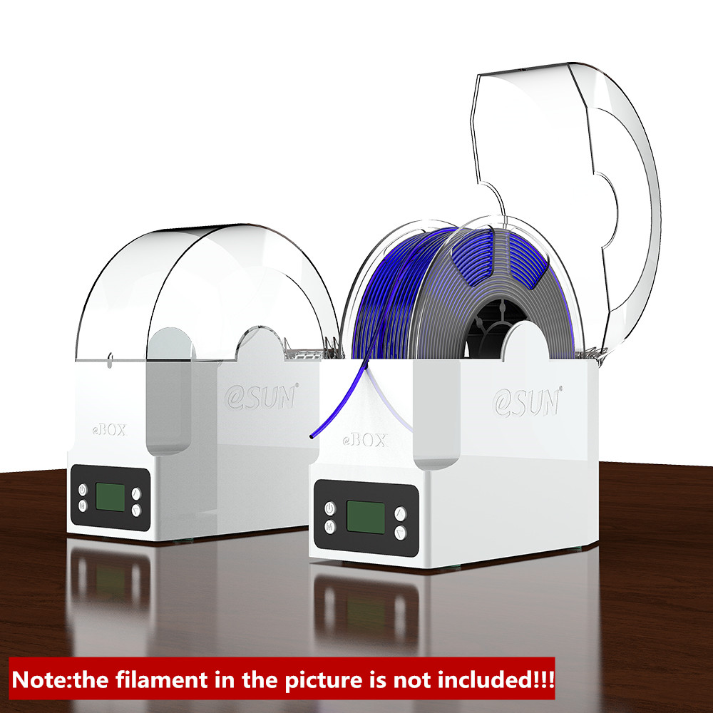 da caixa do secador do filamento da