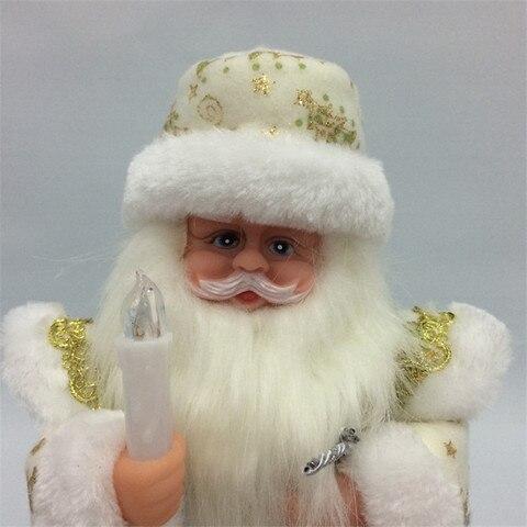 16 polegada russo musical papai noel boneca