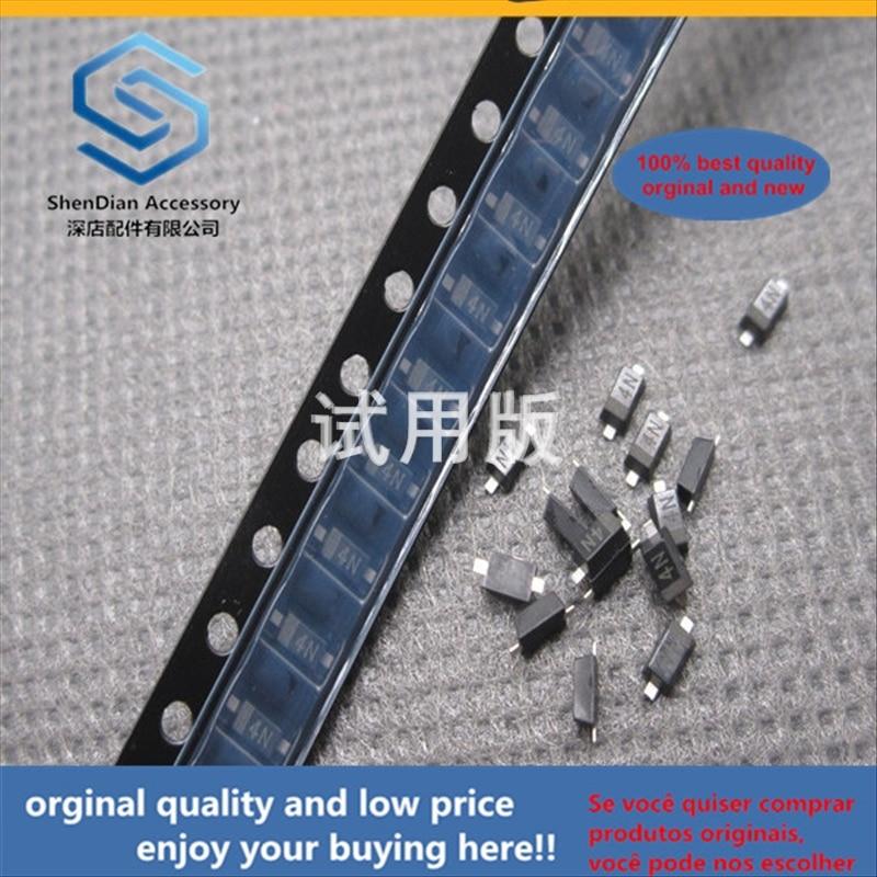 50pcs 100% Orginal New Best Quality Zener Diode MM1Z5V1 0.5W 5.1V 5V1 SOD123 1206 Zener Tube 4N Silk Screen