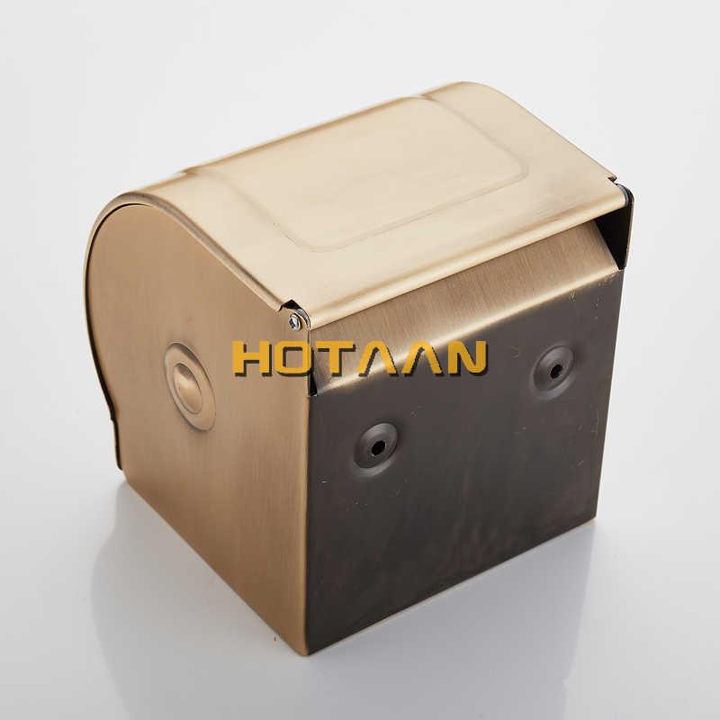 Darmowa wysyłka hurtowa i detaliczna na ścianie toaleta wc uchwyt na papier antyczny mosiądz rolki tkanki pole YT-10892