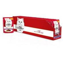 Корм влажный Gourmet Mon Petit для кошек с ягненком, 50 г(30 шт