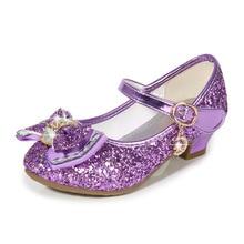 Kids dance shoes Princess Kids Leather Shoes