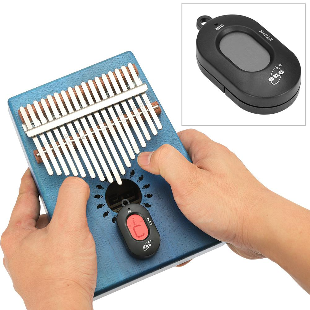 ET01K Kalimba Tuner 12 Equal Temperament Auto-tune Mode Tuner For Thumb Piano Mbira Turning Adaptor